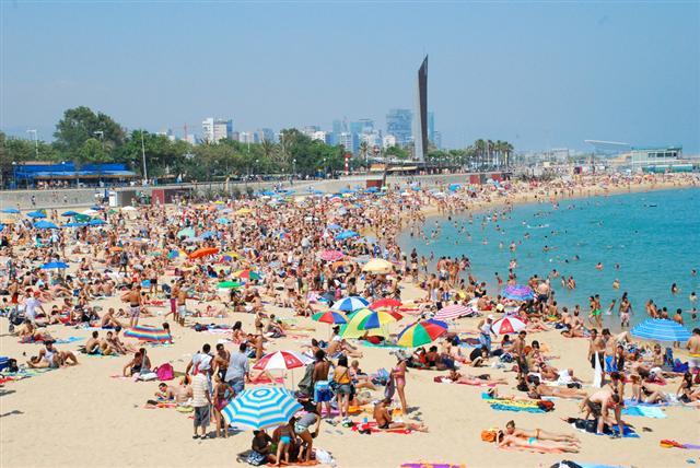 near barcelona gay beach