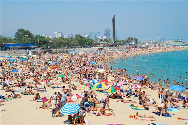 Mar Bella Barcelona S Only Clothing Optional Beach